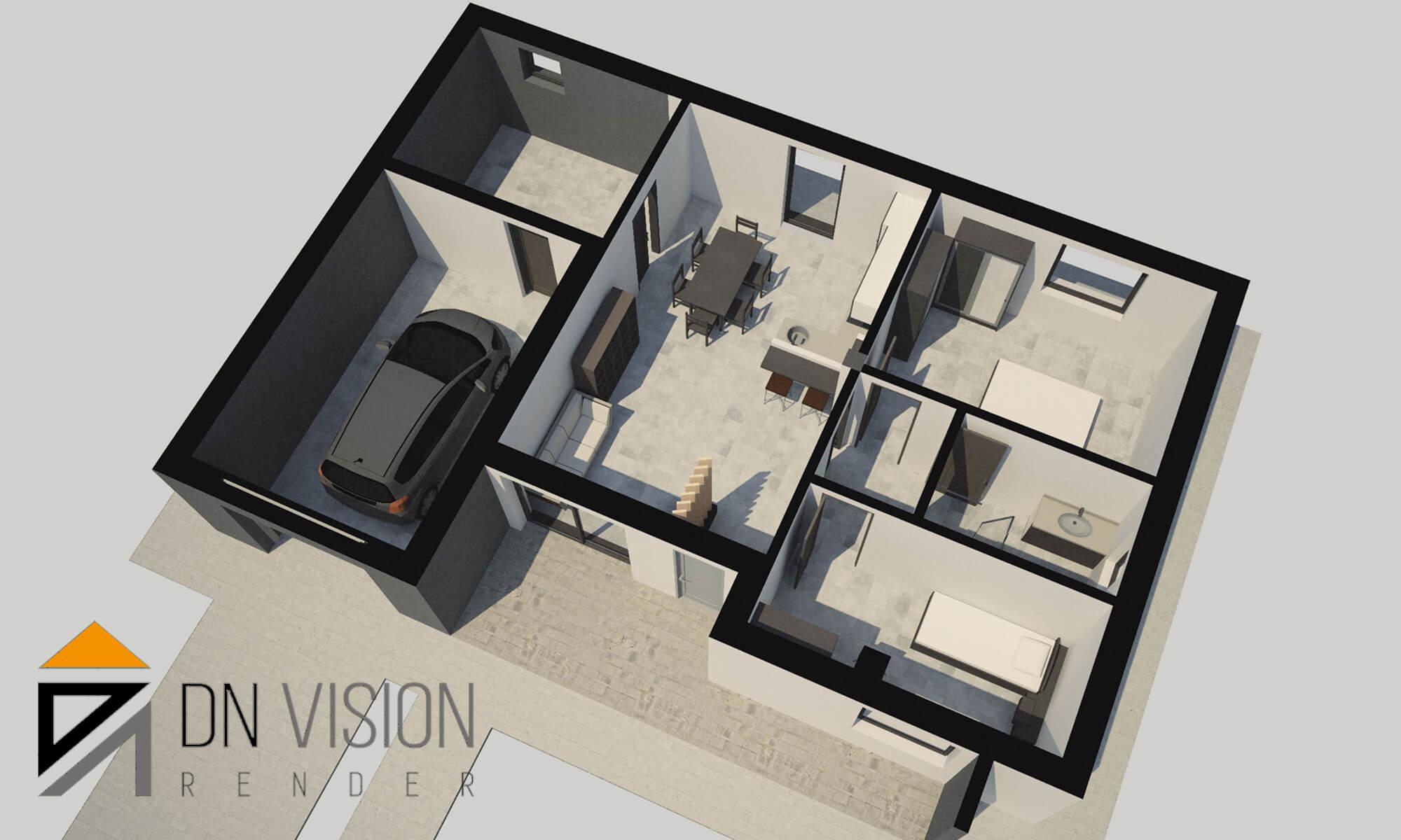 progettare casa online, PLANIMETRIE 2D e 3D