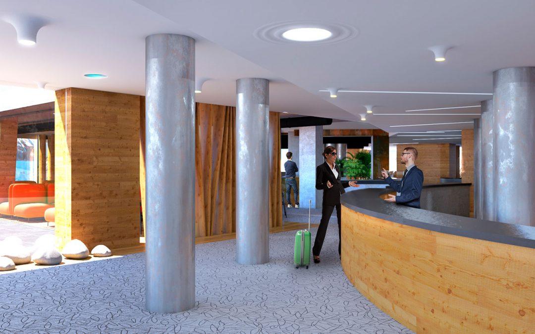 Render Hotel a Livigno